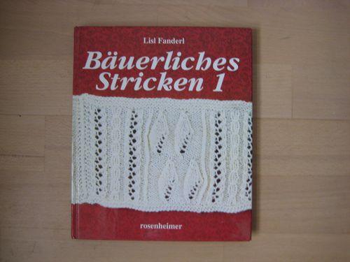lille tysk strikkebog med forskellge mønstre 25 kr